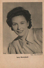 OLD POSTCARD ACTRESS GERMANY . LENY MARENBACH . YEAR 1940 . SEE MY STORE CC1283