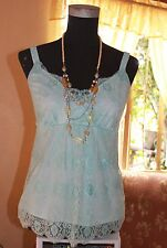 NEW YORK & CO. dainty all-lace babydoll top , sz S