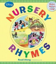 Read-Along Storybook and CD Ser.: Nursery Rhymes by Disney Book Group Staff...