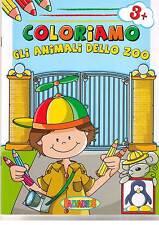 Coloriamo gli animali dello zoo 3+ - Salvadeos - Libro Nuovo in Offerta!