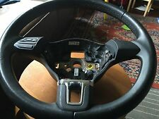 VW POLO 2009-2015 BLACK STEERING WHEEL MULTI FUNCTION SPEC.