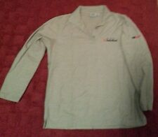 Used Team Radioshack Heather gray polo shirt Collectors Version Ladies size med