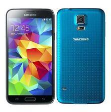 Samsung Galaxy S5 SM-G900F - 16GB - Electric Blue (Unlocked) Smartphone
