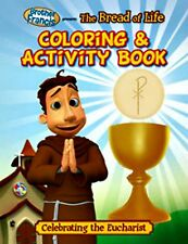 Brother Francis Bread of Life Coloring Book - First Communion Gift Catholic