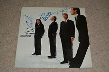 DAVID BOWIE signed Autogramm In Person TIN MACHINE komplett Vinyl rar!! LP