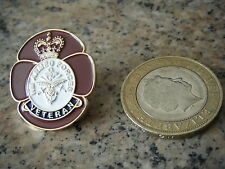 HM ARMED FORCES VETERAN POPPY PIN BADGE,BRITISH ARMY, RAF,NAVY ECT  LARGE SIZE.