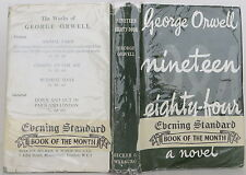 GEORGE ORWELL Nineteen Eighty-Four FIRST EDITION