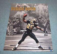 New Orleans Saints Reggie Bush Signed Autographed 16x20 Photo USC