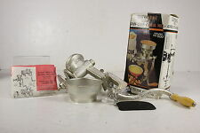 NIB Universal Gourmet Grain Corn Cereal Mill Model #500 Course To Fine Grinding