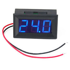 Mini Blue LED Digital Voltage Meter Voltmeter Panel DC 4.5~30V Small Portable