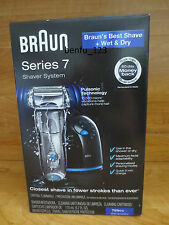 Braun Series 7 Shaver System Model 799cc-6 *NEW* Wet and Dry 3 Modes