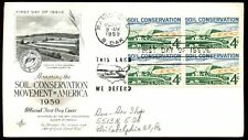 USA 1959, Soil Conservation FDC, Cover #C6040