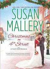 Christmas on 4th Street by Susan Mallery HARDCOVER Fool's Gold 12.5