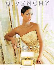 PUBLICITE ADVERTISING 035  2014  GUERLAIN   parfum femme DAHLIA DIVIN
