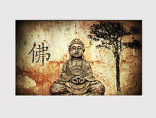 169 NEW X LARGE CANVAS 18''x 32'' WALL ART GAUTAMA BUDDHA PRINT PICTURE