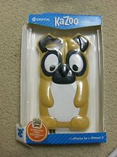 GRIFFIN KAZOO DOG RUBBER CELL PHONE CASE FOR APPLE iPhone 5 / 5S / SE - DOG