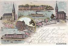 * GERMANY - Gruss aus Biebrich a/ Rhein 1900