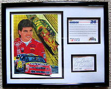 MAXX MINI PRINT ~ JEFF GORDON ~ #24 DUPONT by SAM BASS