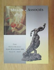 CATALOGUE DE VENTE DROUOT MILLON DESSIN TABLEAU SCULPTURE NOVEMBRE 2004