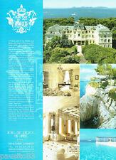 PUBLICITE ADVERTISING 1016  2007   Hotel du Cap Eden-Roc  cap d'Antibes