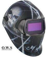 "3M Speedglas 100V Series Welding Helmet ""Xterminator"" Variable Shade 3 / 8-12"