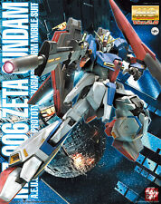 1/100 MG MSZ-006 ZETA Z GUNDAM Ver 2.0 Model Kit Bandai BEST PRICE!