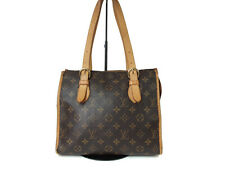 Authentic LOUIS VUITTON Popincourt Haut Monogram Canvas Shoulder Bag LS11265L