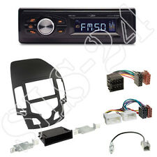 Caliber RMD022 (orange) Autoradio+Hyundai i30 (FD/FDH) Blende black+ISO Adapter