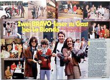 LA BIONDA =  2 pages 1979 GERMAN Clipping !!! RITAGLIO 2 PAGINE