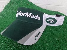 TaylorMade Golf New York Jets Golf Visor Green and White NFL Adjustable NEW