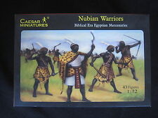YD142 CAESAR MINIATURES 1/72 maquette figurine History 049 Nubian Warriors