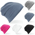 Summer Fashion Beanie - Unisex Light Weight Jersey Slouch Style - Choose Colour