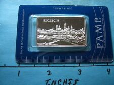 PAMP SUISSE ★ ★  ★ ★ SZCZECIN POLAND 999 SILVER VERY RARE 2000 ONLY SEALED ASSAY