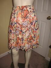 Cato Women's Multi-Color Print Tiered Skirt Size M.