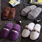 New Women Men Open Toe Winter Slippers Warm Slippers Fleece House Indoor Shoes