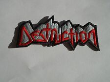 DESTRUCTION EMBROIDERED PATCH