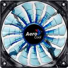 Aerocool Shark 120mm x 25mm Fan (3-Pin, Fluid, Blue)