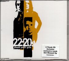 22-20s - SHOOT YOUR GUN - CD SINGLE - MINT