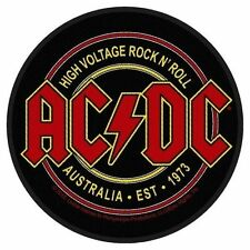 AC/DC - Patch Aufnäher - High Voltage Australia EST 1973 9x9cm