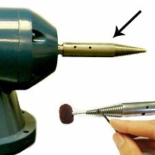 12mm Special Pigtail for Adapting a Bench Grinder to Polisher-With End Hole&Grub