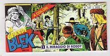 fumetto striscia - IL GRANDE BLEK serie inedita numero 145