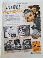 1939 Gas Range Stove For Cooking Do The Four Big Jobs Original Ad