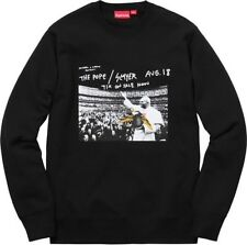 Supreme x Anti-Hero  SS16 Slayer Pope Sweatshirt Black Size Large
