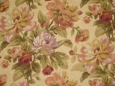Mill Creek Raymond Waites CLAUDETTE TEASTAIN Floral Drapery Sewing Fabric