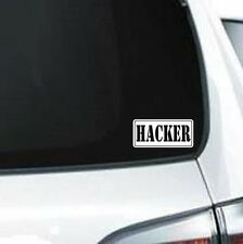 B278 Computer Hacker Hack 101 vinyl decal car sticker