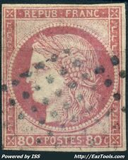 FRANCE COLONIES GENERALES TYPE CERES N° 21 AVEC OBLITERATION COTE 170€