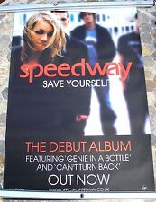 SPEEDWAY Save Yourself 2003 promo poster 30 x 20  original