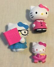 Hello Kitty Christmas Ornament And McDonalds Happy Meal Toys