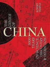 The Genius of China: 3000 Years of Science, Discovery & Invention..NEW Hardcover