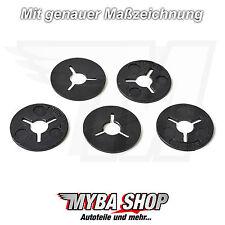 5x Befestigung Klemm Scheiben Clips aus Kunststoff für VW Audi 6N0129355